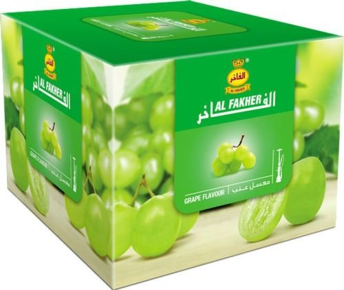 Al Fakher 250g Grape Flavor Hookahs By S & L With Free S and L Male and Female Mouth Piece Disposable Tips