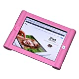 Maximal Power Shock Impact Proof Silicone Cover for Apple iPad 2, 3rd, 4th Generation Case, Pink (POU IPAD/PK)