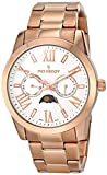 Peugeot Women's 7094RG Analog Display Japanese Quartz Rose Gold Watch