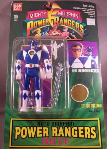 Bandai Blue Billy Power Ranger