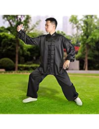 Unisex Chinese Traditional Tai Chi Uniforms Kung Fu Clothing Wing Chun Suit Martial Arts Tang Clothes