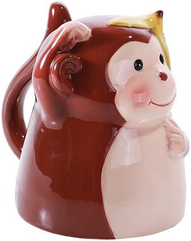 Topsy Turvy Coffee Mug Adorable Mug Upside Down Tea Home Office Decor Red Dragon