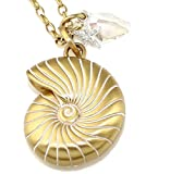 Brighton Reef Shell Gold Plated Retired Necklace