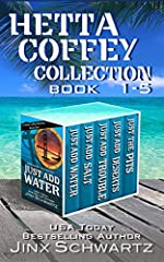 Books 1 through 5 of the award-winning Hetta Coffey Series:Just Add WaterJust Add SaltJust Add TroubleJust DesertsJust the PitsHetta Coffey is a sassy Texan with a snazzy yacht, and she's not afraid to use it!She's pushing forty and is perpet...