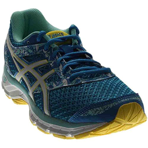 ASICS Women's Gel-Excite 4 Running Shoe, Diva Blue/White/Sun, 7.5 M US