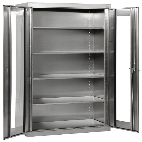 Capacity Clear View Storage Cabinet - 9