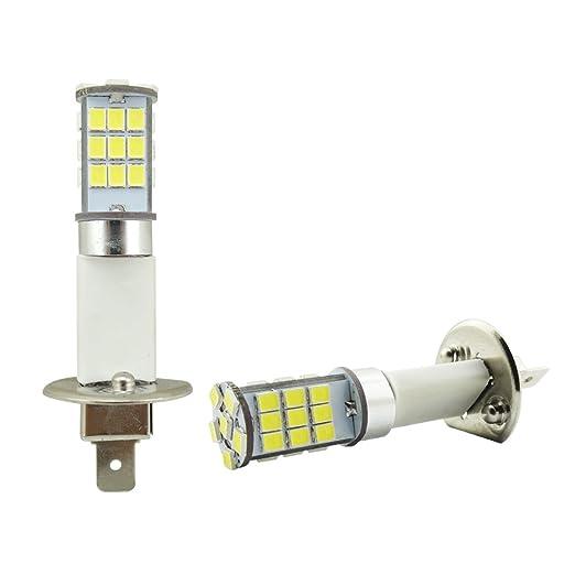 2 opinioni per H1 LED bianco 33-SMD LED lampadine per