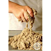 Toyztrend Crazy Sand 1000 Grams tub for Kids. Non Stick and Smooth Without Moulds. (Natural Colour)