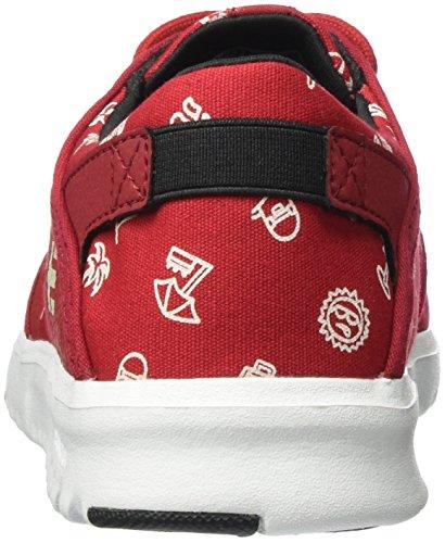 Scarpe Skateboard Da Etnies Rosso Scout red Uomo white tUwn4q