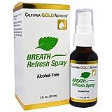 #10: California Gold Nutrition, Breath Refresh Spray, Natural Peppermint, Alcohol-Free, 1 fl oz (30 ml)