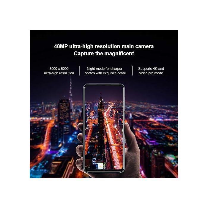 """51k8Tfbis4L Haz clic aquí para comprobar si este producto es compatible con tu modelo Apariencia: teléfonos inteligentes Xiaomi Redmi Note 9S hechos con pantalla de pantalla completa Dot Drop de 6.67"""", parte posterior de cristal curvado 3D para un buen agarre y máxima comodidad. La relación de pantalla del Note 9S es 91.8%, proporciona la máxima visibilidad. Lente de la Cámara: Cámara trasera Cámara principal de 48MP de resolución ultra alta, modo nocturno para fotos más nítidas con detalles exquisitos. Cámara ultra gran angular de 8MP ultra 1.3 veces. Cámara macro de 5MP, primer plano de distancia mínima de 2 cm, explore las maravillas de los detalles. Modo de retrato AI con sensor de profundidad de 2MP con ajuste de desenfoque de fondo, captura retratos como un director de cine con modo de película."""