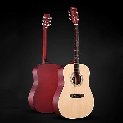 Boll-ATur Guitarra tradicional Guitarra acústica for principiantes ...