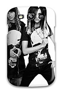 Hot Excellent Galaxy S3 Case Tpu Cover Back Skin Protector Tokio Hotel