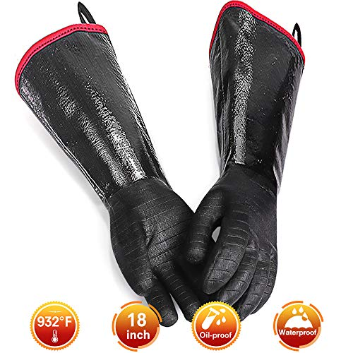 silicone gloves for turkey fryer - 3