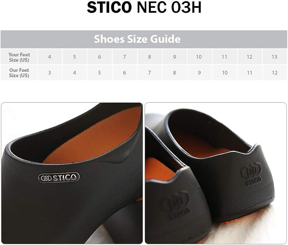 Stico Men's Slip Resistant Chef Clogs