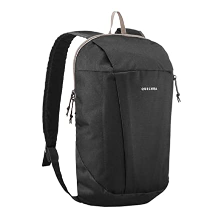 499a2fa0f7 QUECHUA NH100 Country Walking Backpack 10 Ltr (Black)  Amazon.co.uk  Luggage