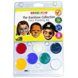 Snazaroo Face Paint Rainbow Collection Kit