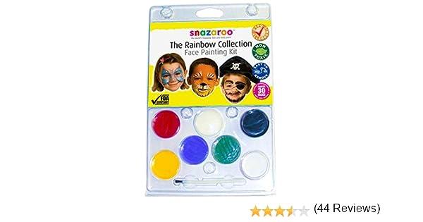 Snazaroo - Pintura facial, kit colección, arcoíris: Amazon.es: Juguetes y juegos
