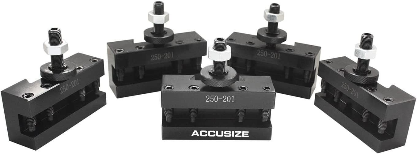 Accusize Industrial Tools Bxa Turning and Facing Holder for 3//4/'/' Turning Tools
