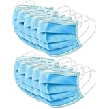200 Pcs 3-Ply Cover, Anti Dust Breathable Earloop Comfortable Sanitary Mouth Face Cover Professional Protection