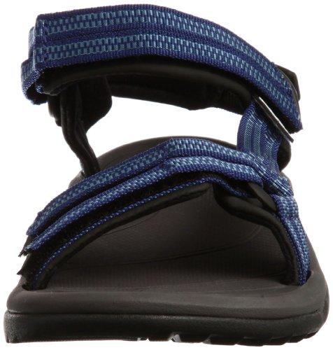 Teva Terra FI Lite Womens Wandern Sandelholze - SS17-36 Blau (double zipper blue 559)