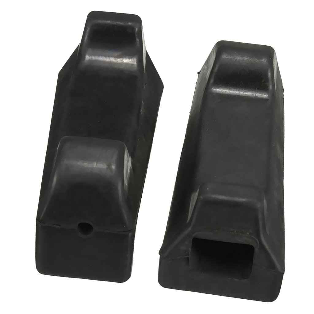 MagiDeal 1 Paar Vorne Fußrasten Fußstütze für Yamaha YBR125