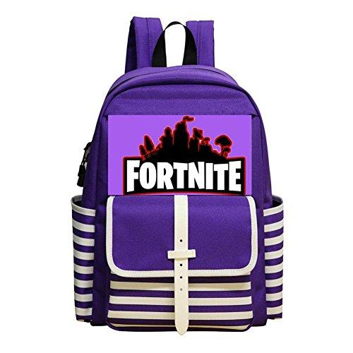 Fortnite-Logo Backpacks Daypack Shoulder Bag School Rucksack Back to School