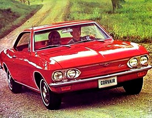 A MUST FOR OWNERS, RESTORERS & ENTHUSIASTS - THE 1967 CHEVY CORVAIR