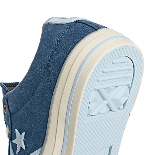 Converse Sp Core Canv Ox 289161-61-3 - Zapatillas de tela unisex Azul (Marine/Blanc)
