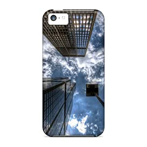 New Cute Funny Cityscapes Buildings Skyscrapers Hdr Case Cover/ Iphone 5c Case Cover
