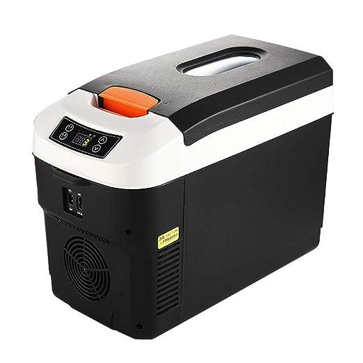 LRXGOODLUKE Nevera Portátil Híbrida, 12L Tipo de Mini Refrigerador ...