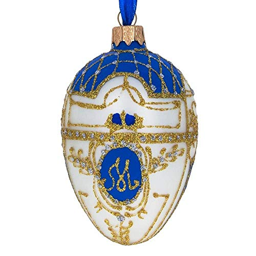 BestPysanky 1903 Royal Danish Glass Ornament