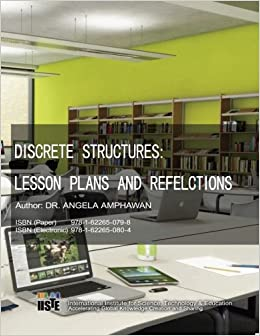 buy discrete structures lesson plans and refelctions book online at