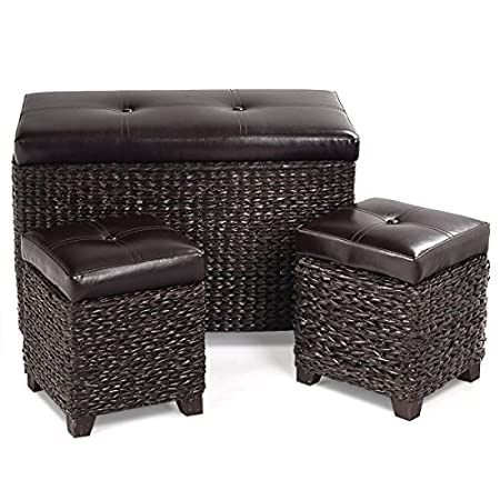 51k8WiXxPIL._SS450_ Wicker Ottomans and Rattan Ottomans