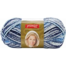 Premier Yarn Deborah Norville Collection Serenity Chunky Variegated Yarn, Cirrus