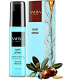 Best Hair Straightening Products - SAFISA Hair Straightening & Repair Spray – Keratin Review
