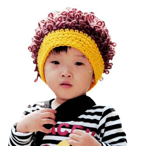 LOCOM (Yellow Afro Clown Wig)
