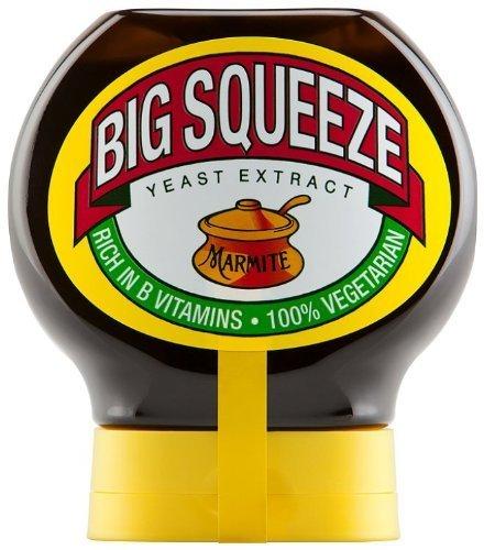 Marmite Big Squeeze 400g by Unilever 400g Jar