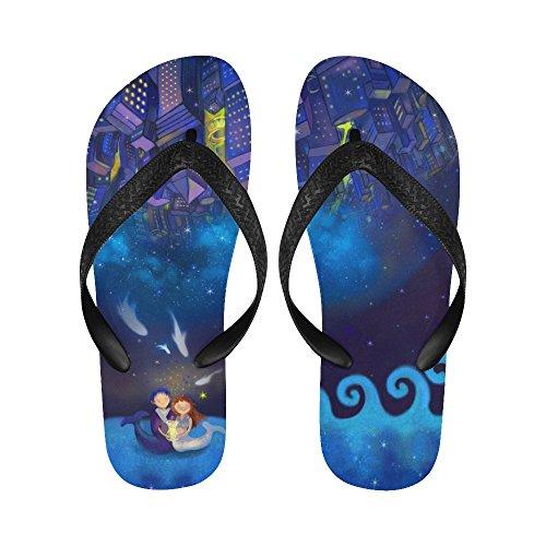 D-Story Merard Flip Flops Beach Sandals For Men/Women 0TX4v