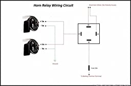 hella 329 318 001 horn relay with wiring harness (12v,relay) amazon Xantia Horn Relay Wiring Diagram