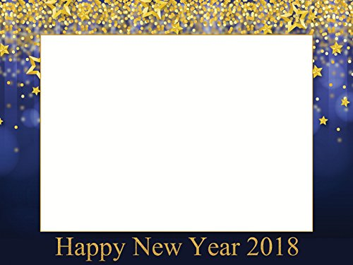 Large Custom Happy New Year photo booth frame, New Year Eve, Holiday Photo booth, New Year photo props, New Year Party, 2018 props, Holiday photo booth, Selfie Frame Sizes 36x24, - New Frame Year Happy
