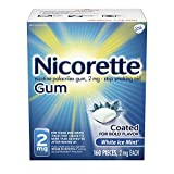 Nicorette 2mg Nicotine Gum to Quit Smoking
