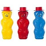 Toysmith Pustefix Bubble Blowing Bear (Colors May Vary)