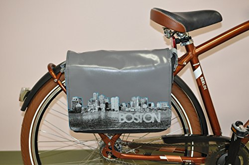 Kettler Boston Messenger Bag/Fahrradtasche mit Click System für Fahrrad Rack Montage