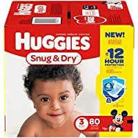 Huggies Snug and Dry Diapers - Size 3 - 80 ct