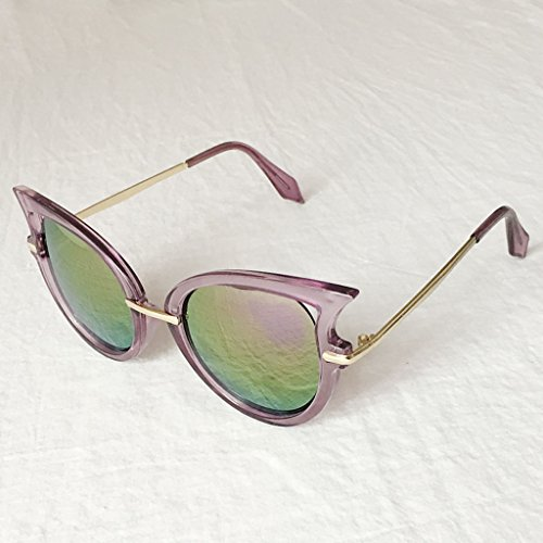 Gafas la de señoras 2 la Ultravioleta Gafas Gafas X562 8 sol sol Color Coreana Las de protección Manera de de de protección qpxEa