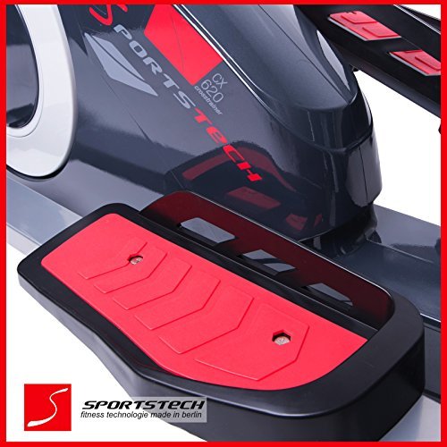 Sportstech CX620 Profi Crosstrainer mit Smartphone App - 4
