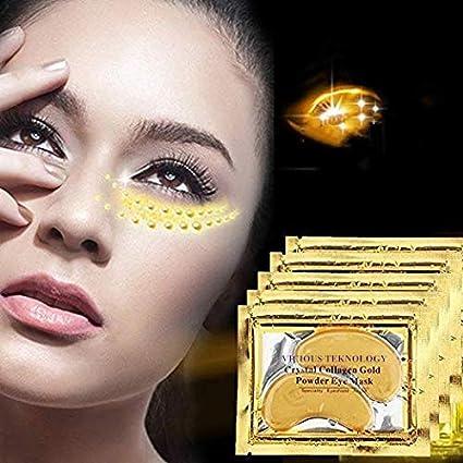 Amazon.com: Exc Colágeno debajo de los ojos máscara para las ...