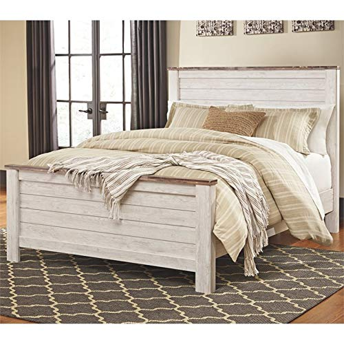 Ashley Willowton Queen Panel Bed in -