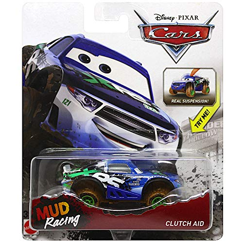 (Disney Cars Clutch Aid Mud Racing Diecast Deluxe with Suspension)